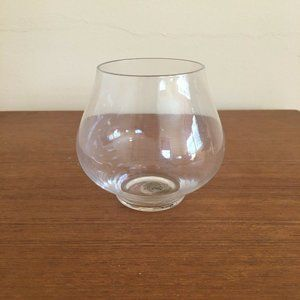 Williams Sonoma Glass Candle Holder